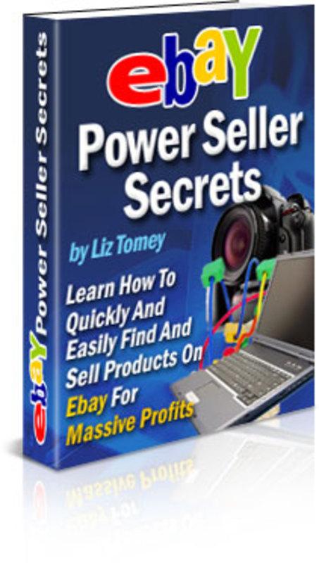 Product picture  Ebay Power Seller Secrets
