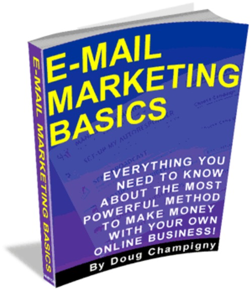 Product picture Email Marketing Basics eBook