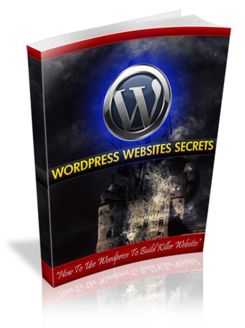 Product picture Wordpress Website Secrets